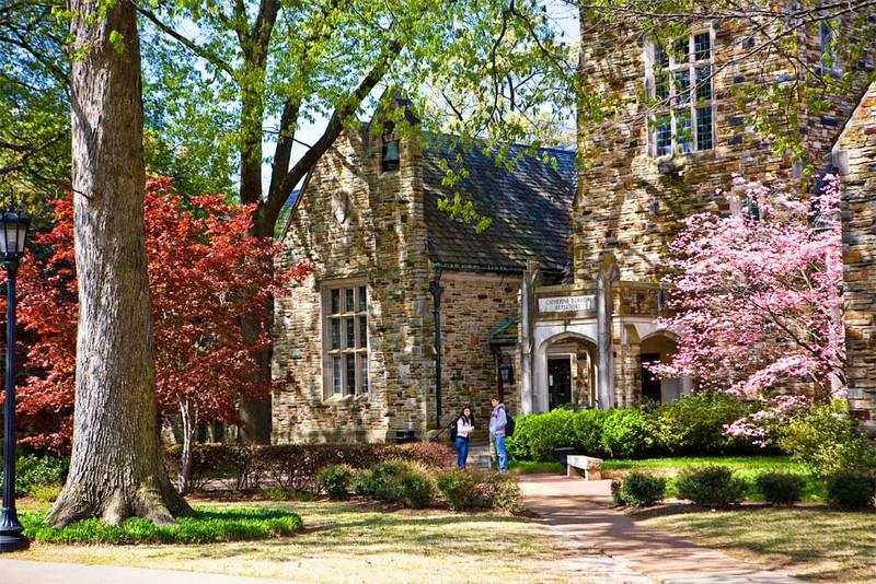 Rhodes College in Memphis Best for Job Placement